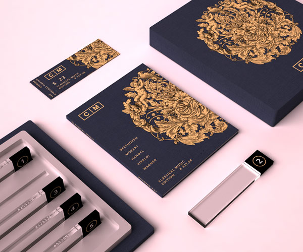 Classical Music Packaging Design by Valentin Leonida