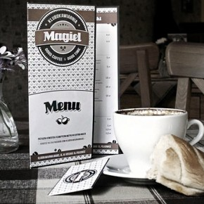 "Coffee House ""Mangle"" Branding by Piotr Kita"