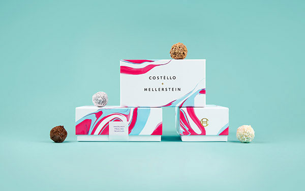 Costello & Hellerstein branding and packaging design by Robot Food.