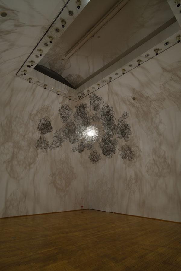 Empty sculpture by Japanese artist Onishi Yasuaki.