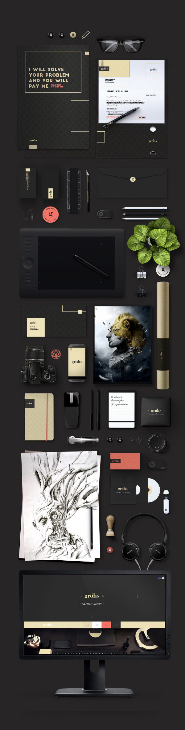 Martin Grohs, a sophisticated rebranding project.
