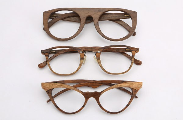 Sayon Wood Frame Glasses