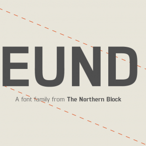Eund - Geometric Sans Serif Font from The Northern Block