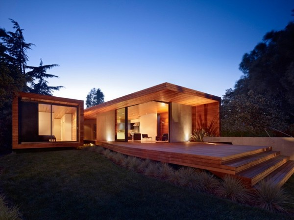 Addition and remodeling of an existing mid century ranch house by Terry&Terry Architecture.
