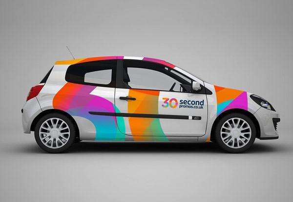 30 secondpromos.co.uk - car design.