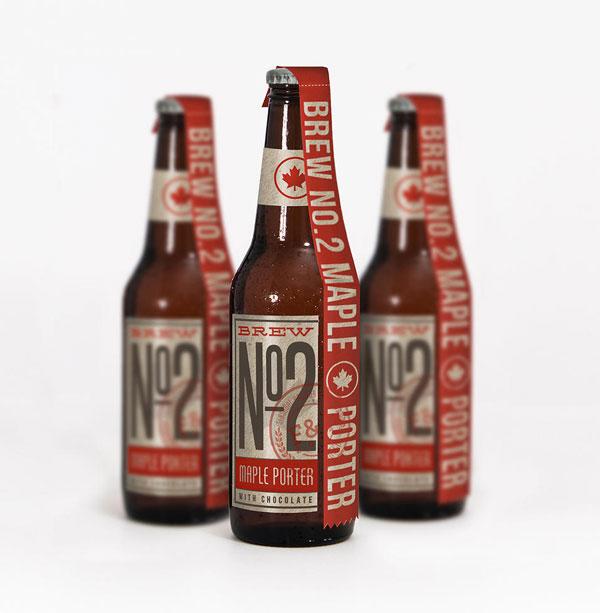 Beer bottles design.