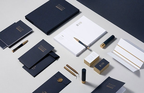 Brand and stationery design for Privilege, a retail company from Dubai that deals with luxury goods.