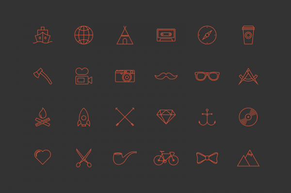 24 Bonus Icons To Match That Perfectly The Logos