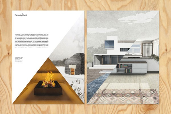 Aamodt/Plumb – Architecture Studio Branding by TwoPoints.Net