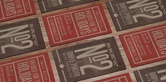 Business cards with a nice vintage look.