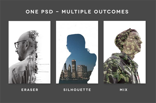 ExposureX2 – Double Exposure Effects for Adobe Photoshop