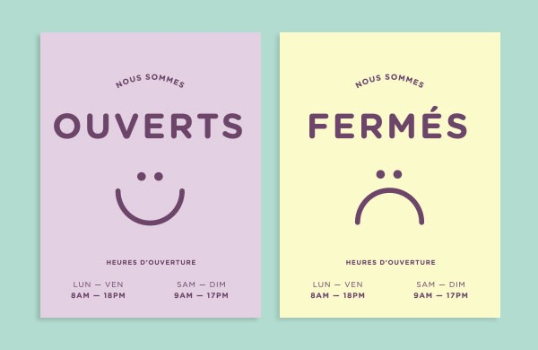 Store - print design and branding by Studio Caserne.