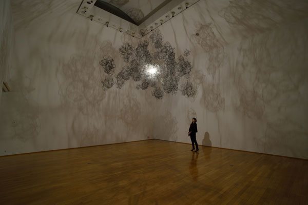 Work from Onishi Yasuaki's solo show in November 2014.