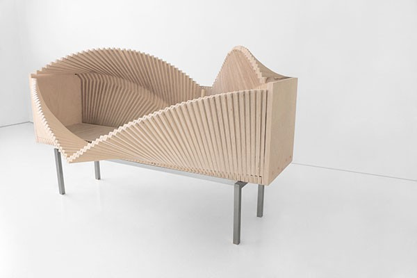 Deformable furniture, you can open it up and deform it in many different ways.