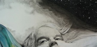 A tribute portraiture of Philip Seymour Hoffman.