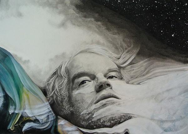 A tribute portraiture of Philip Seymour Hoffman.