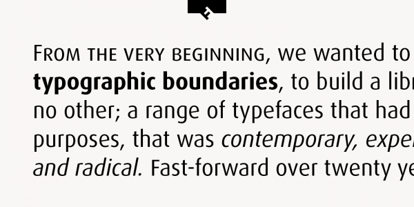 The Dax font family from foundry FontFont.
