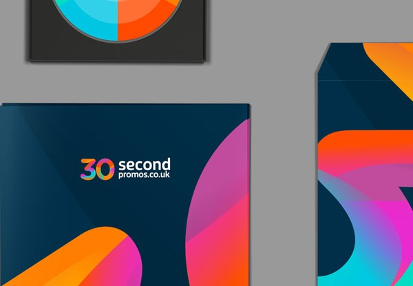 A colorful and modern brand identity.