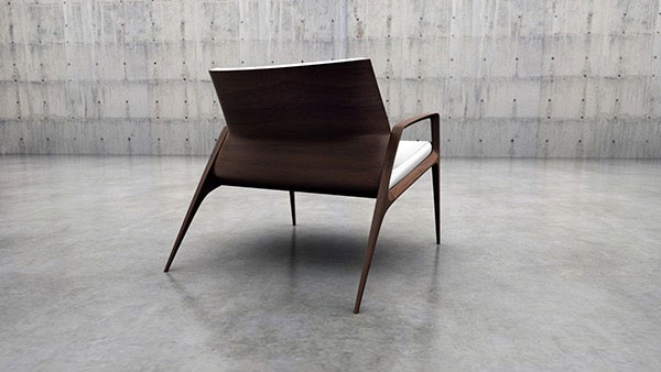 AC 214 Armchair by Angel Corso