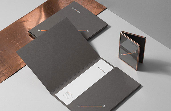 Printed collaterial designed by studio for brands.