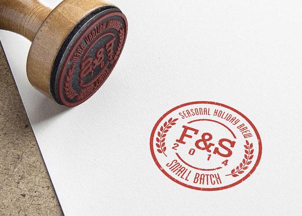 Stamp - Brew No2 - Beer branding by Craig Valentino.