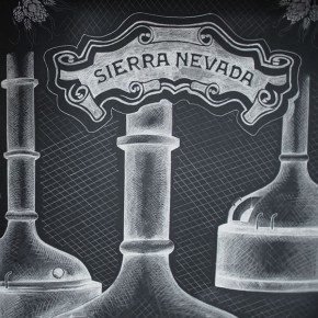 Sierra Nevada Chalk Mural by Ben Johnston