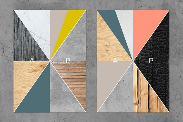 A visual identity based on graphic shapes.