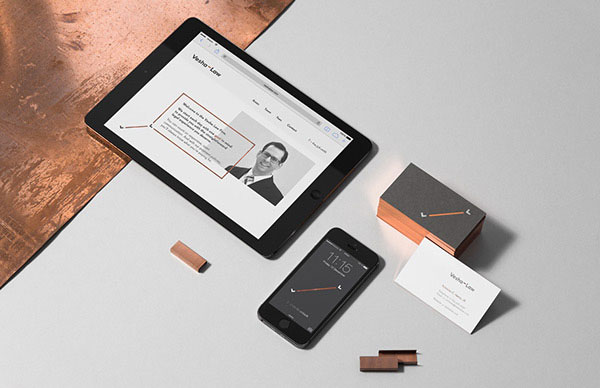 Elegant and classic design for print, web and mobile.