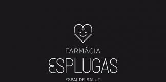 Farmàcia Esplugas logo.