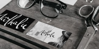 A personal brand identity created by Darbi Nicole for Nathalie O.
