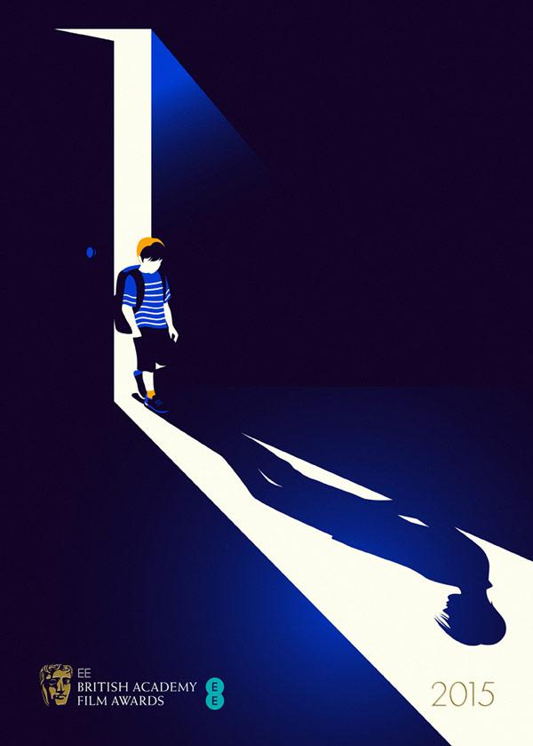 Boyhood - BAFTA 15 - Film and brochure illustration.