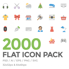 Squid.ink Flat Icon Pack - Download 2000 Flat Icons for Low Price!