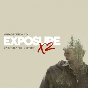 ExposureX2 - Double Exposure Effects for Adobe Photoshop