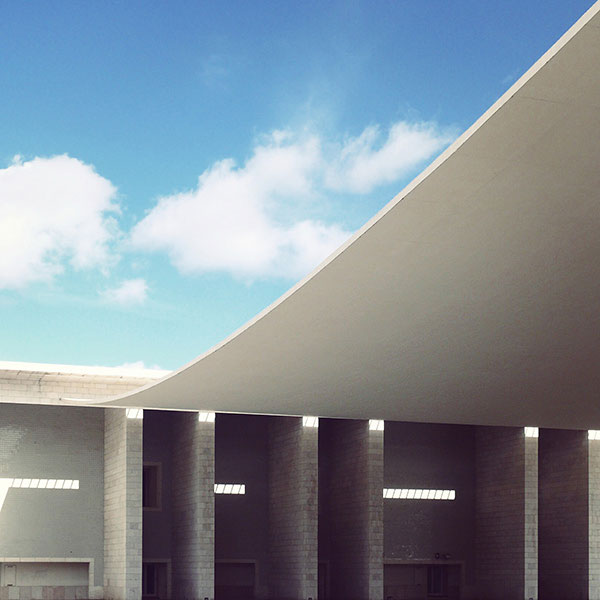 Pavilion of Portugal - Location: Lisbon, Portugal - Architect: Alvaro Siza Vieira - Photo by Sebastian Weiss.