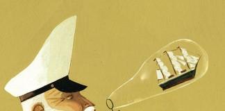 Sailor - Editorial artwork for Clij Magazine, 2006.