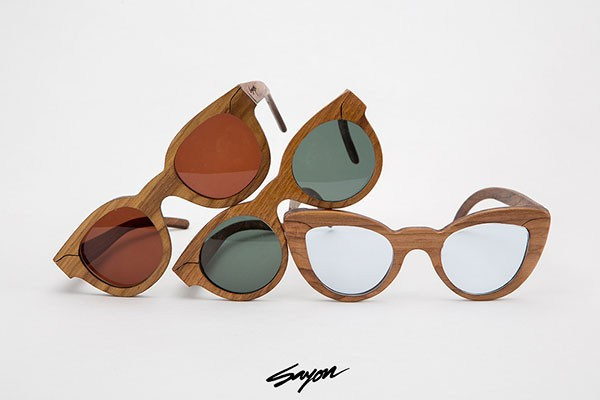 wood frame sunglasses by sayon chatterjee a new delhi india based multidisciplinary designer who