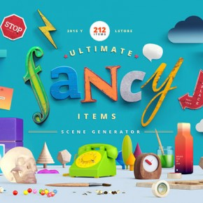 Fancy Items Scene Generator