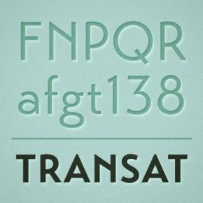 Transat Font Family from Typetanic Fonts