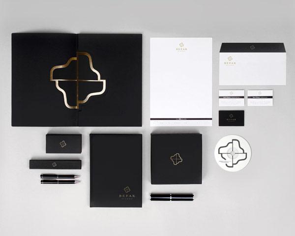 Befak Pianos - identity design by Kosta Rakicevic.