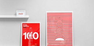 Coca-Cola — 100 years of the iconic glass bottle - designs by Mash Creative for an exhibition and up-coming publication.