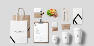 The Nordic - Scandinavian food truck identity by Alexandre Pietra.