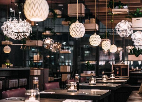 Noble restaurant interior.