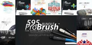 595 BRUSHES - ProBrush™ BUNDLE