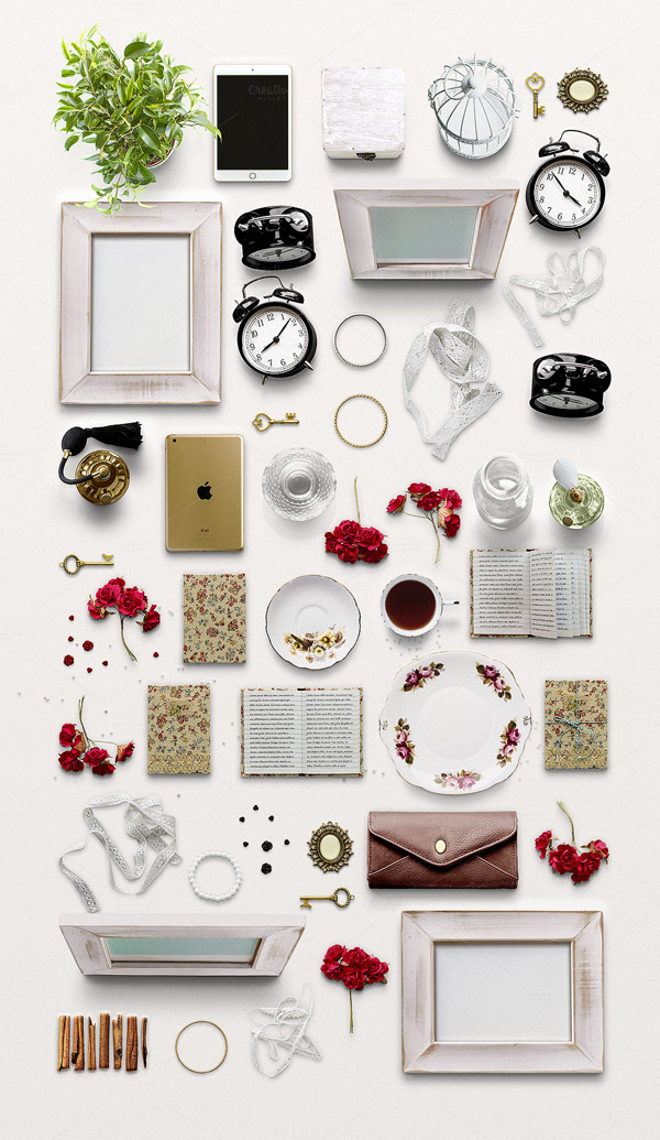 Numerous high quality objects for the classic woman.