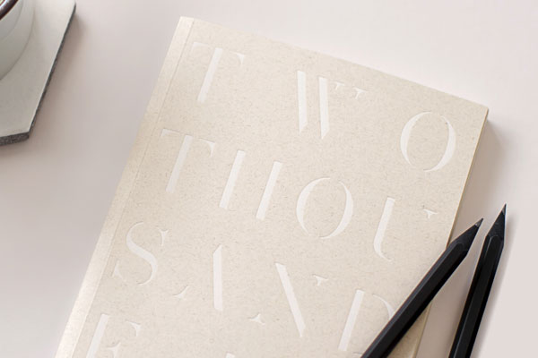Beautiful letterpress notebooks.