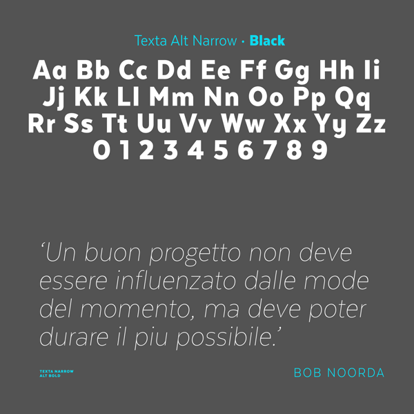 Alphabet of the Black character set and a sample of a text in thin letters.
