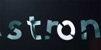 Robin Albrecht, a German motion designer was playing with different real materials and letters.