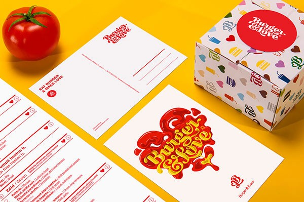 A playful brand identity based on numerous icons and illustrations.