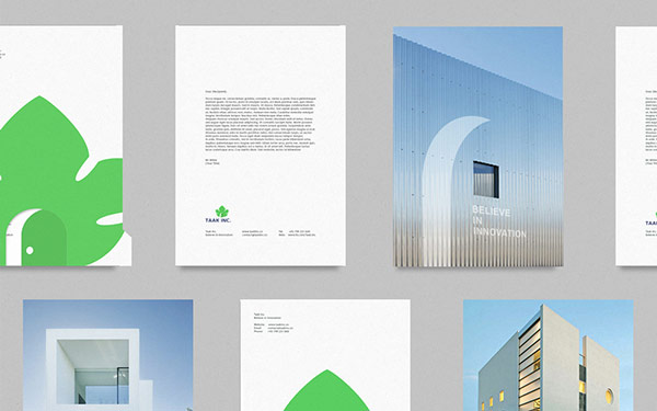Some printed matters created by Berlin, Germany based graphic designer Ramin Nasibov.
