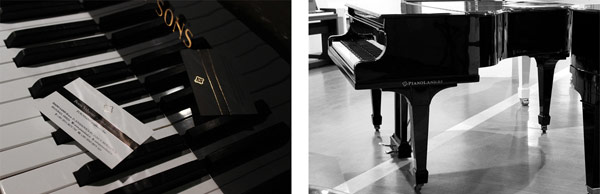 Befak Pianos - Images for the visual experience.